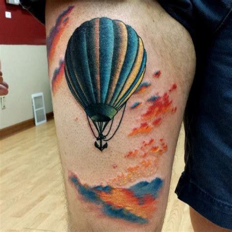 hot air balloon tattoo 50 best balloon tattoos design and ideas