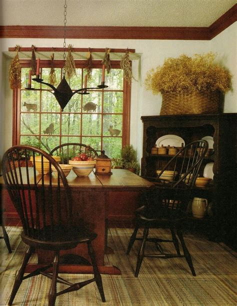 primitive dining room furniture primitive dining room primitive pinterest