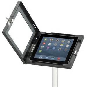 Standing Height Desk by Telescopic Ipad Holder Plex Display