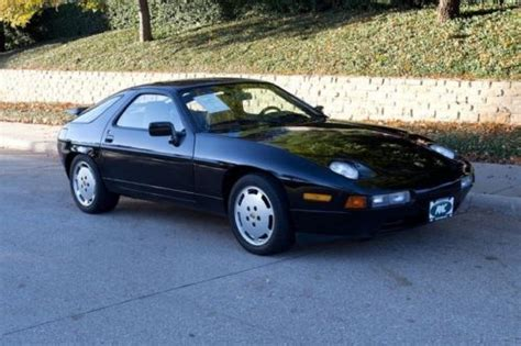 auto body repair training 1989 porsche 928 electronic throttle control purchase used 1988 porsche 928 s4 black tan new classic 9 interior well serviced w records