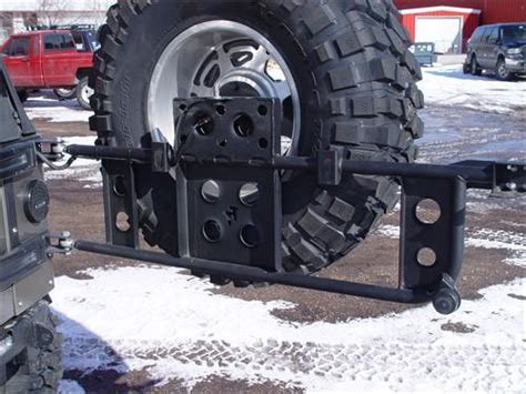 Jeep Wrangler Tire Carrier Jeep Tj Swing Out Tire Carrier Rear 97 06 Wrangler Tj Lj
