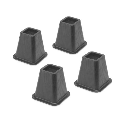 risers for bed dorm room bed risers set of 4