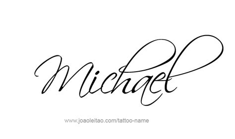 tattoo ideas for the name michael michael angel name tattoo designs