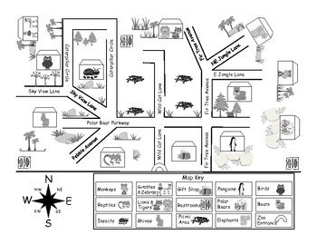 pattern language towns buildings construction pdf zoo map pack by first grade fanatics teachers pay teachers