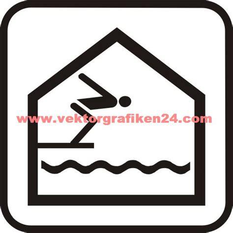 piktogramm schwimmbad piktogramm hallenbad schwimmbad ins wasser springen