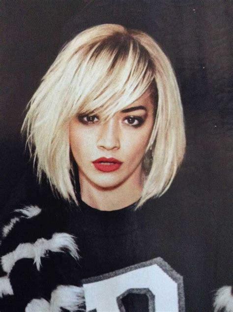 rita ora hair 2015 tendencia en coloraci 243 n rubio platinado cut paste