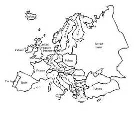 map of europe colouring outline of europe during world war 2 title of lesson an