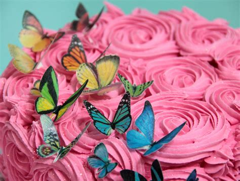 How To Make Edible Paper - edible wafer paper butterflies felt