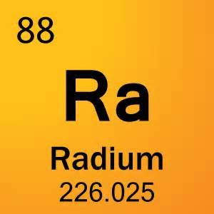 88 radium element cell science notes and projects