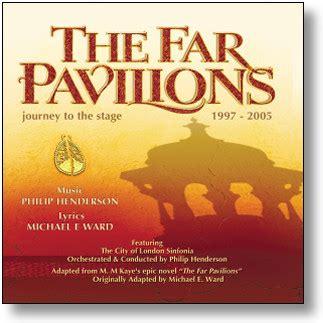 far pavillon stage door records the far pavilions original cast