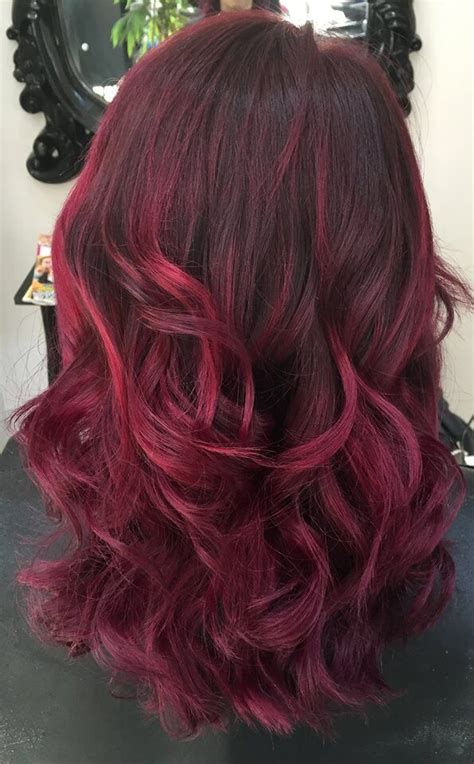 36 beautiful hair color ideas that are totally trending on prices for ombre hair diy burgundy ombre brown hairs advanced colouring highlights with