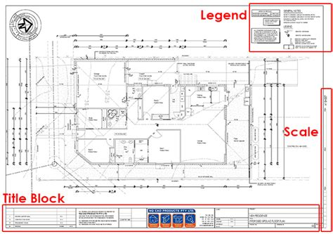 floor plan title block demolition floor plans construction google search