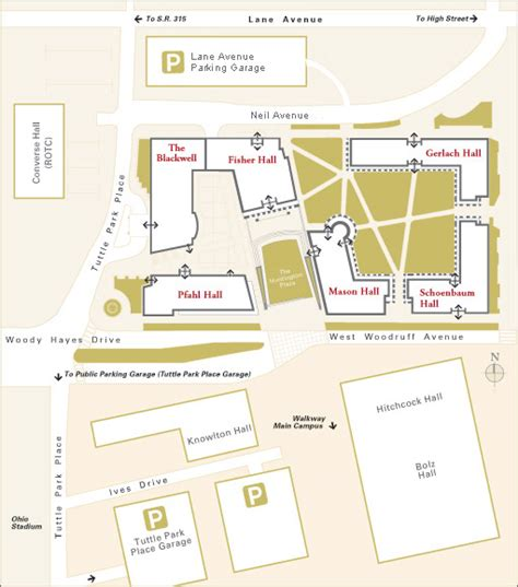Mba Schools Maps by Fisher College Of Business Cus Guide