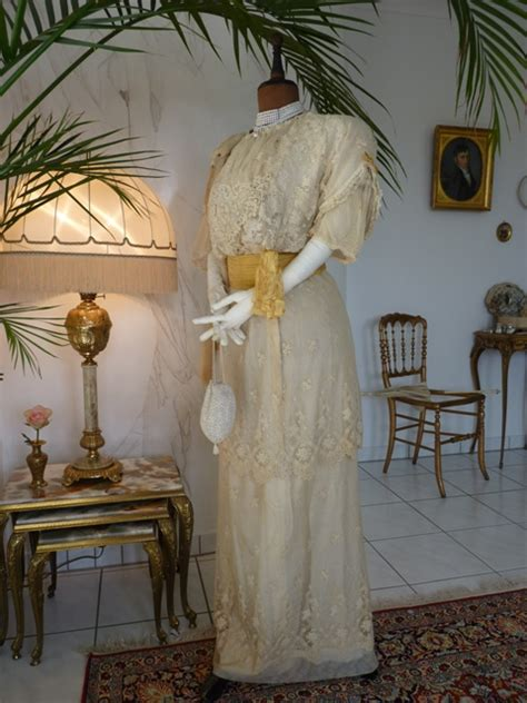 Brautkleider Um 1900 by Edwardian Wedding Dress Ca 1910 Www Antique Gown