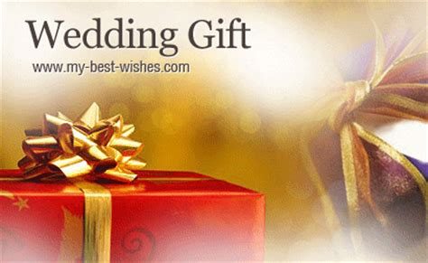 gift wishes wedding gift ideas