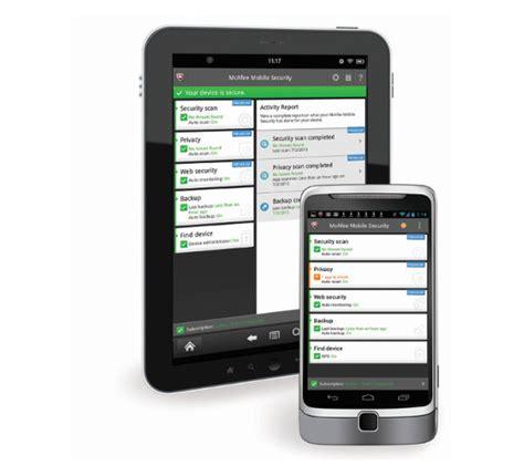 mcafee mobile security login mcafee renueva la protecci 243 n de los usuarios m 243 viles con