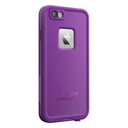 lifeproof fre iphone  waterproof case pumped purple
