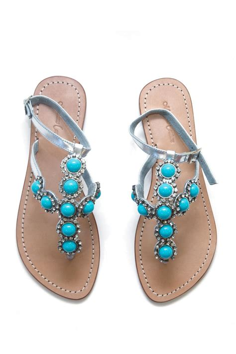 beaded sandal madame couture beaded sandal from las vegas by