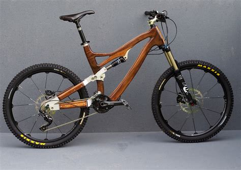hand made wooden bikes
