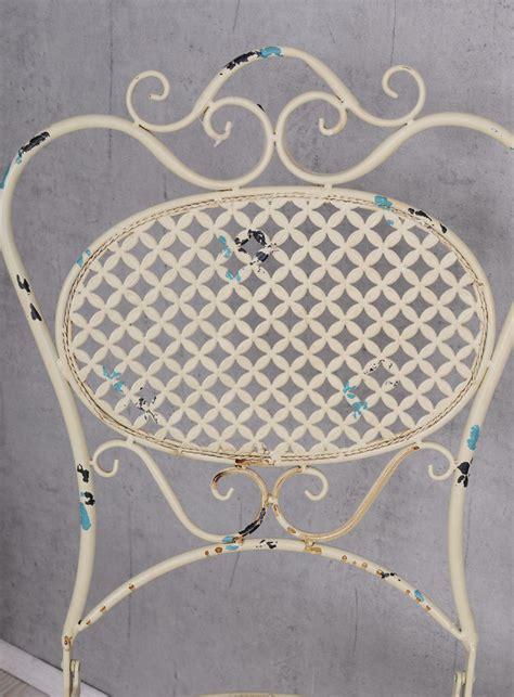 antik stuhl nostalgischer metallstuhl antik stuhl shabby chic gartenstuhl