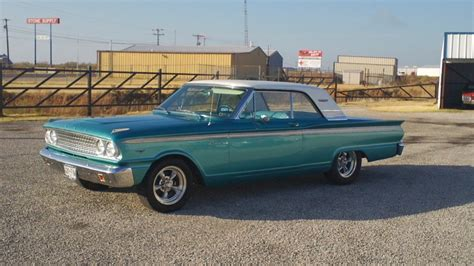 Emerald Teal Metalliac 1963 Ford Fairlane 500 For Sale
