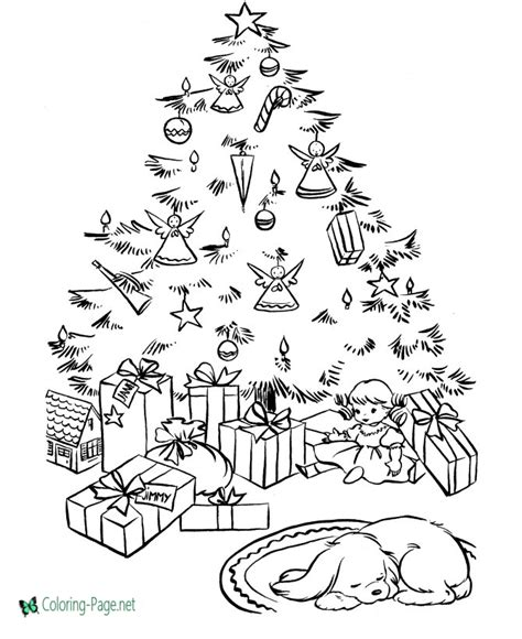 coloring sheets of christmas things christmas coloring pages