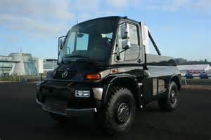 Mercedes World File Brabus Unimog U500 Black Edition At The Mercedes
