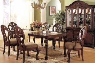 french sytle dining room decoration with vintage furniture and formal dining room table