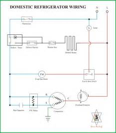 wiring diagram kulkas secara umum refrigeration air conditioning