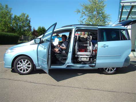 Rollstuhl Auto by Mazda Rollstuhl Verladesysteme F 252 R Pkw