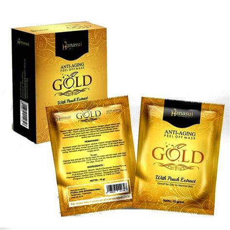 Harga The Shop Masker masker gold hanasui richelle shop