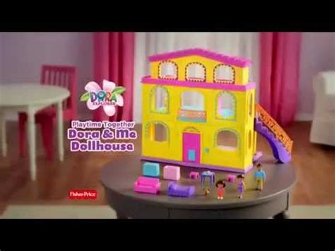 dora dolls house fisher price dora doll house youtube