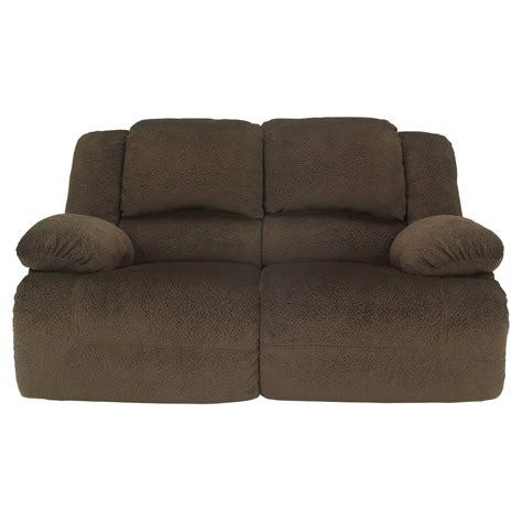 reclining loveseat ashley furniture toletta reclining power loveseat ashley furniture ebay