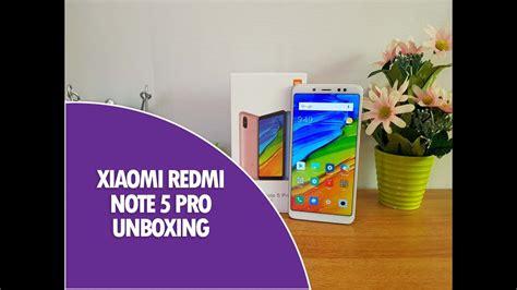 xiaomi redmi note 5 pro unboxing snapdragon 636