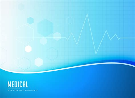 poster design background vector blue medical background concept poster design vector