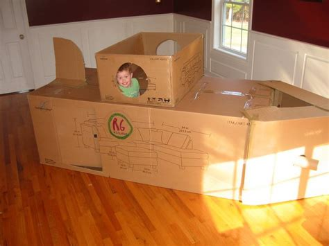 How To Make A Paper Submarine - dramatic play cardboard submarine preschool