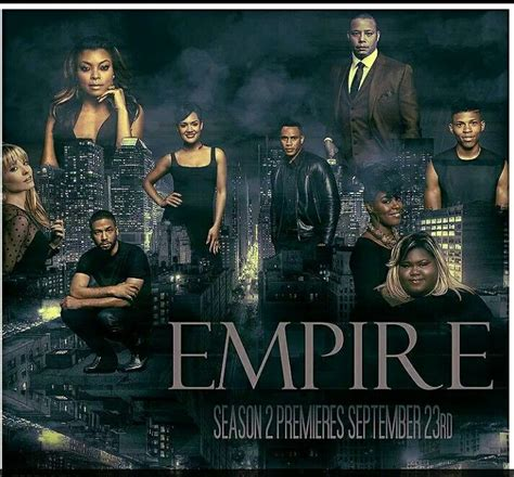 empire tv show renewed for season 2 empire tv show season 2 1000 ideas about hustle cast on
