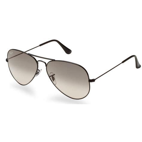 aviator with gray lens rayban aviator sunglasses black frame with 58mm