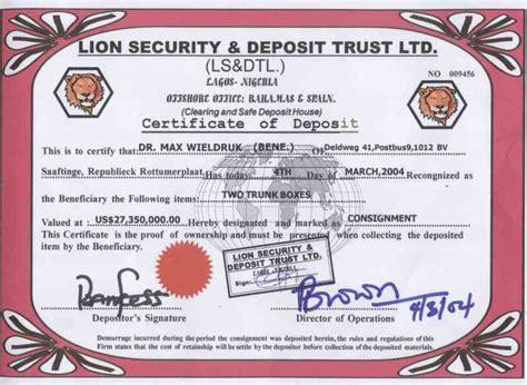 certificate of deposit template dr max wieldruk