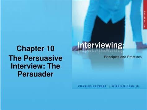 chapter ppt ppt chapter 10 the persuasive the persuader powerpoint presentation id 1142256