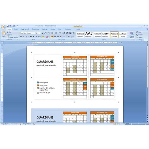 Download Pocket Calendar Template Microsoft Word Tips Microsoft Windows Templates
