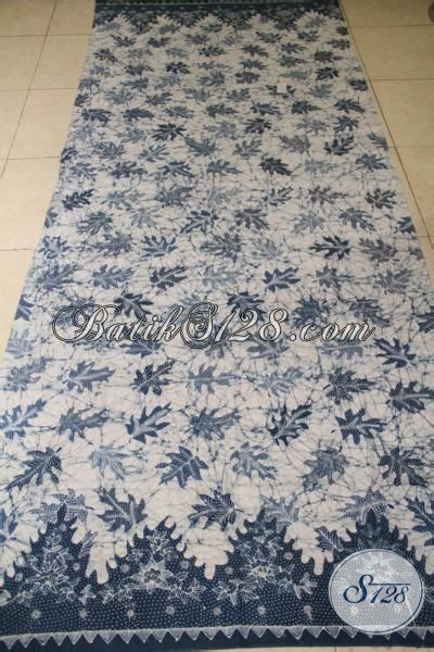 Batik Katun Motif Daun Pejabat kain batik premium motif daun pepaya jual batik tulis