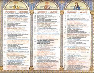 Calendario Ortodoxo Calendario 2015 Crestin Ortodox Search Results