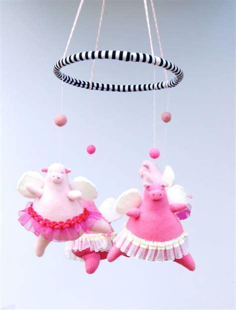 Handmade Baby Mobiles Australia - handmade baby mobiles from pink cheeks studios