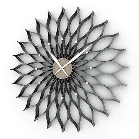 decorative wall clock 12 decorative wall clocks 3d model