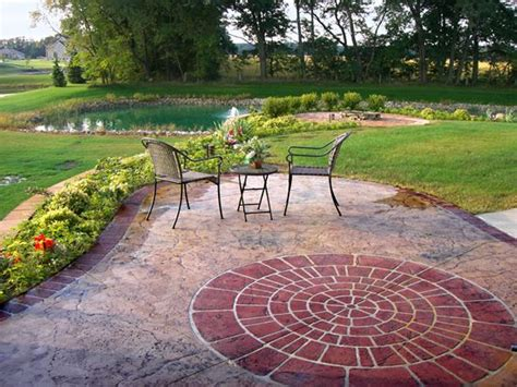 benefits of a concrete patio the concrete network