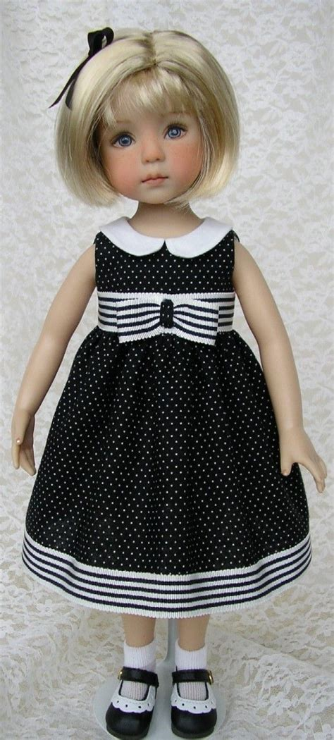 Dress Yuri Polka Black 1178 best images about mu 209 ecas on doll