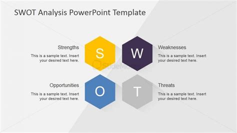 design analysis template editable swot analysis matrix slidemodel