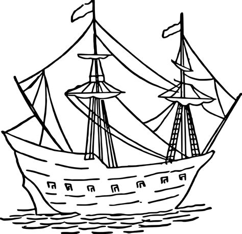 boat drawing for children s boat free coloring pages for kids 12 pics how to draw