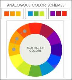 define color scheme analogous definition what is